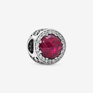 Pandora Sparkling Cerise Pink Charm